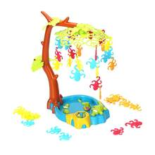 Kids Board Game Balance Funny Monkey Swing Tree Hang Monkey Toys Party Games Educational Toys for Toddler Interaction Children(China)