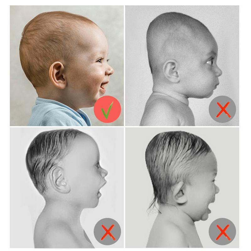 Baby Infant Head Support Kids Shaped Headrest Sleep Positioner Anti-head Memory Foam Styling Pillow