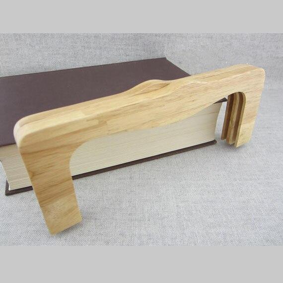 Natural Wood Purse Frame Bag Accessories Bag Purse Frame Bag Handle Solid Wood Handle Handmade Bag Frame Obag Hanger Parts