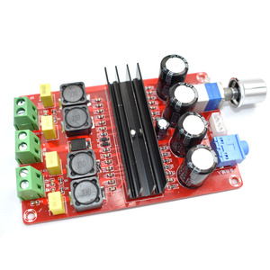 Image 1 - TDA3116D2 Digital Audio Power Amp 100W x2 2.0 Stereo Class D HIFI amplifier DC 12V 24V XH M190 D3 007