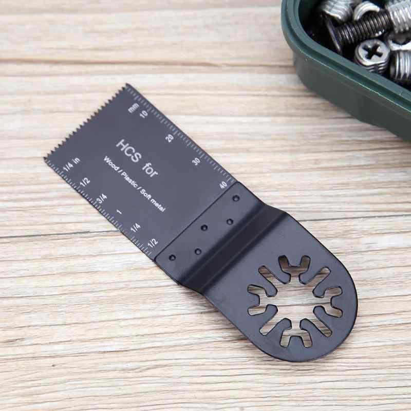 Multifunctionele 32x40mm HCS Zaagblad Oscillerende voor Metaal Hout Snijden Houtbewerking voor Dremel Vernieuwer Power gereedschap