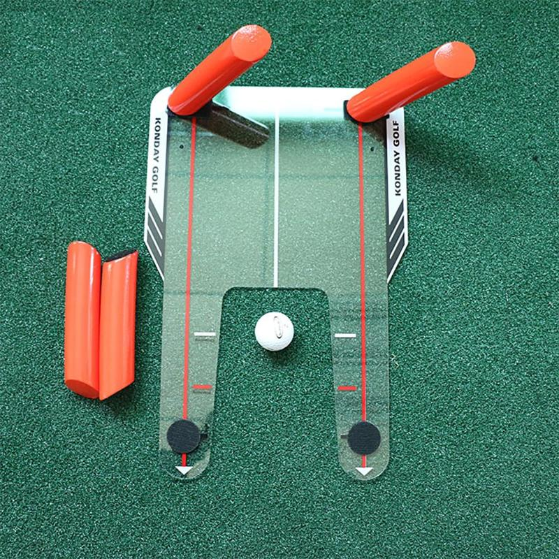 PC Golf Alignment Trainer Aid Swing Training Speed Trap Practice Base 4 Speed Golf Accessories Tool in Golf Training Aids from Sports Entertainment