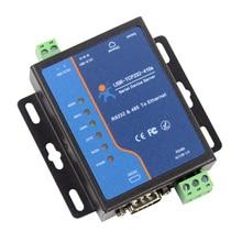 Q18039 USR TCP232 410S terminali güç kaynağı RS232 RS485 tcp/ip dönüştürücü seri Ethernet seri aygıt sunucusu