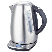 Чайник электрический GEMLUX GL-EK973S (Мощность 2200 Вт, объем 1.7 л, функция поддержания температуры, фильтр, вращение 360°)