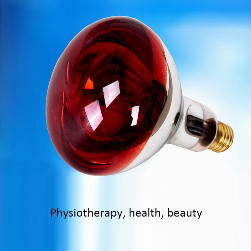 275w Electromagnetic Wave Infrared Treatment Lamp Baking Electric Physiotherapy Electric Baking Lamp Red Light Bulb