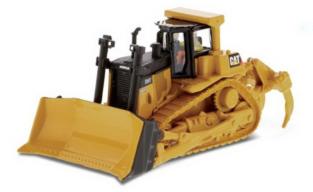 Modèle moulé sous pression de tracteur de Type chenille Cat D9T à l'échelle Masters 1/87 modèle #85209