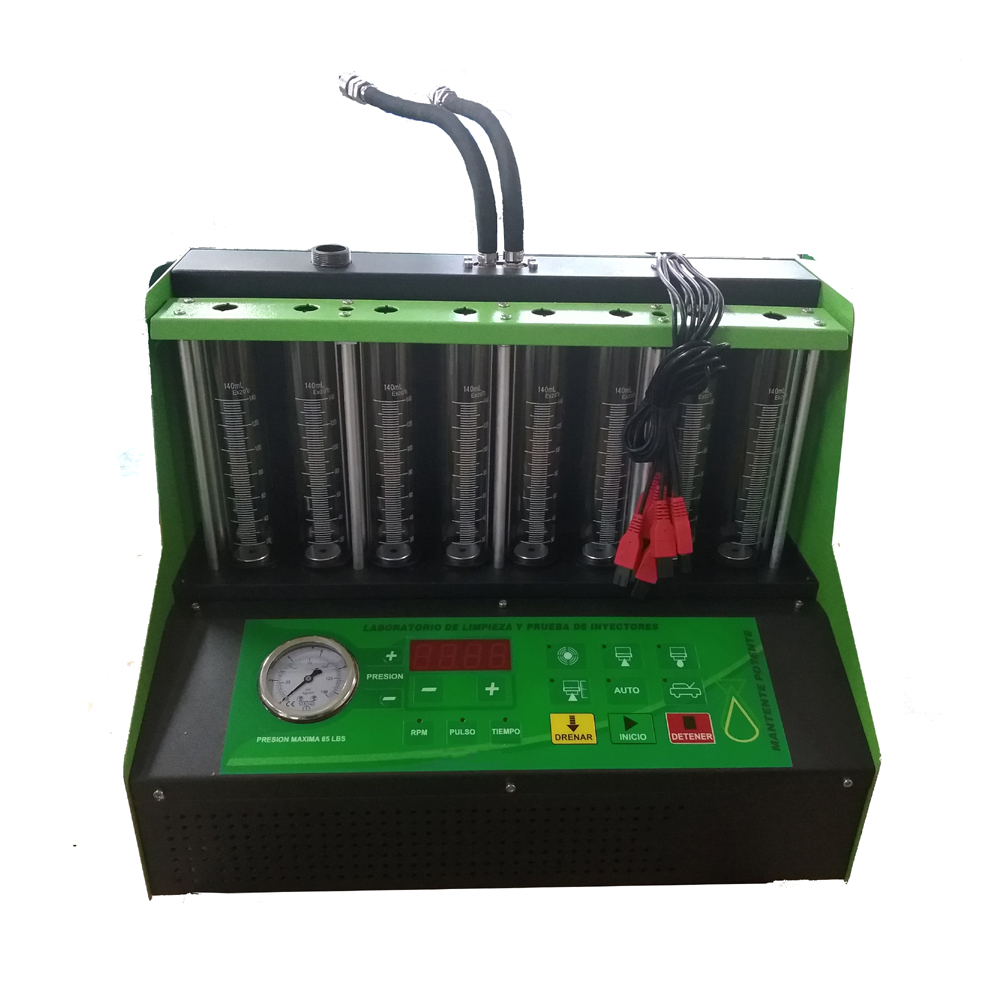 Nettoyeur et testeur d'injecteur de carburant à ultrasons de haute qualité C800 essence 8 cylindres mieux que le lancement CNC801A