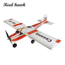 Zdalnie sterowany model samolotu RC do puszczania samolotów materiały EPP na skrzydle skrzydełkowym cessna 960mm, aby ćwiczyć nowy samolot