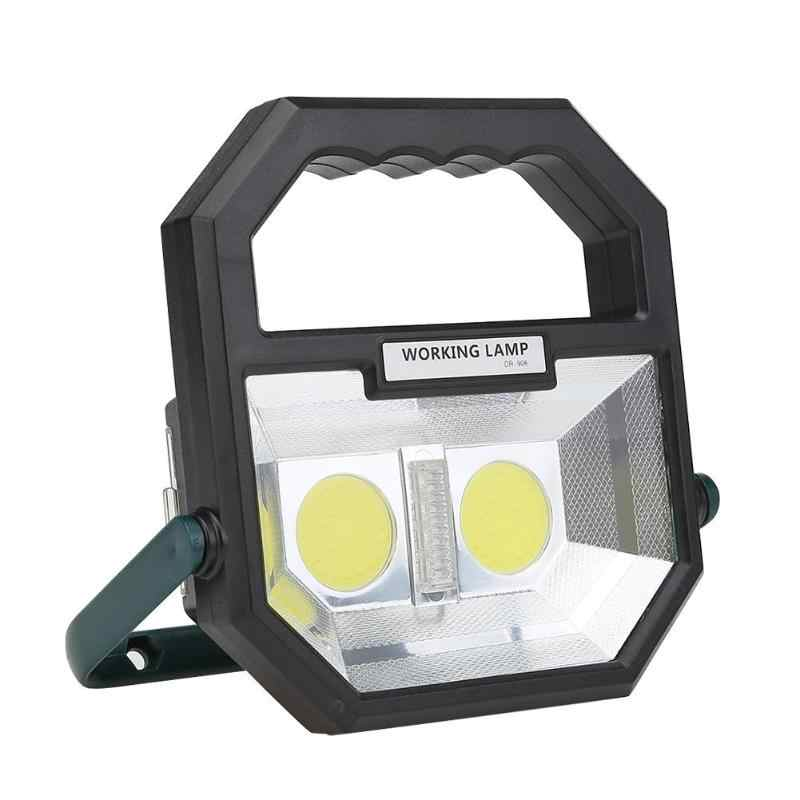 Portable 6 Modes Multi-fuction Lantern USB Rechargeable COB Work Light Safety Warning Security Lamp Outdoor Spotlight Floodlight