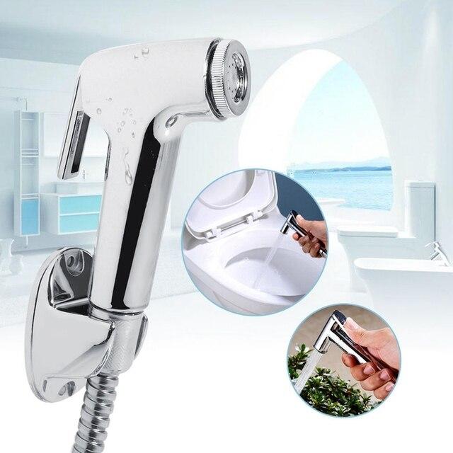 Wc Shattaf Adapter Spray ręczny Bidet głowy prysznic głowica prysznicowa ścienne uchwyt wąż prysznicowy zestaw