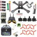 DIY TX5-210 210mm 2,4G RC Drone Quadcopter Mini SP F3 Caddx Turbo S1 noche versión Cámara 5,8G VTX Monitor FPV gafas