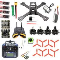 DIY TX5 210 210mm 2.4G RC Racing Drone Mini Quadcopter SP F3 Caddx Turbo S1 Night Version Camera 5.8G VTX FPV Monitor Goggles