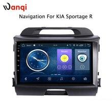9 дюймов android 8,1 для KIA Sportage R 2010-2016 машина, автомобиль мультимедиа gps навигационная система Поддержка RDS
