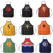 Nine Great Houses of Game of Thrones Apron BBQ Kitchen Cleaning Cooking Apron Baking Accessories Fans Funny Gift Daily Home Use