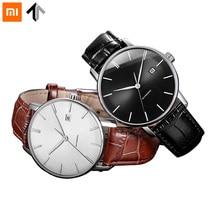 Оригинальный xiaomi mijia TwentySeventeen механические часы с сапфировой  поверхностью кожаный ремешок полностью автоматический механический ... 13bcb9bfbf5