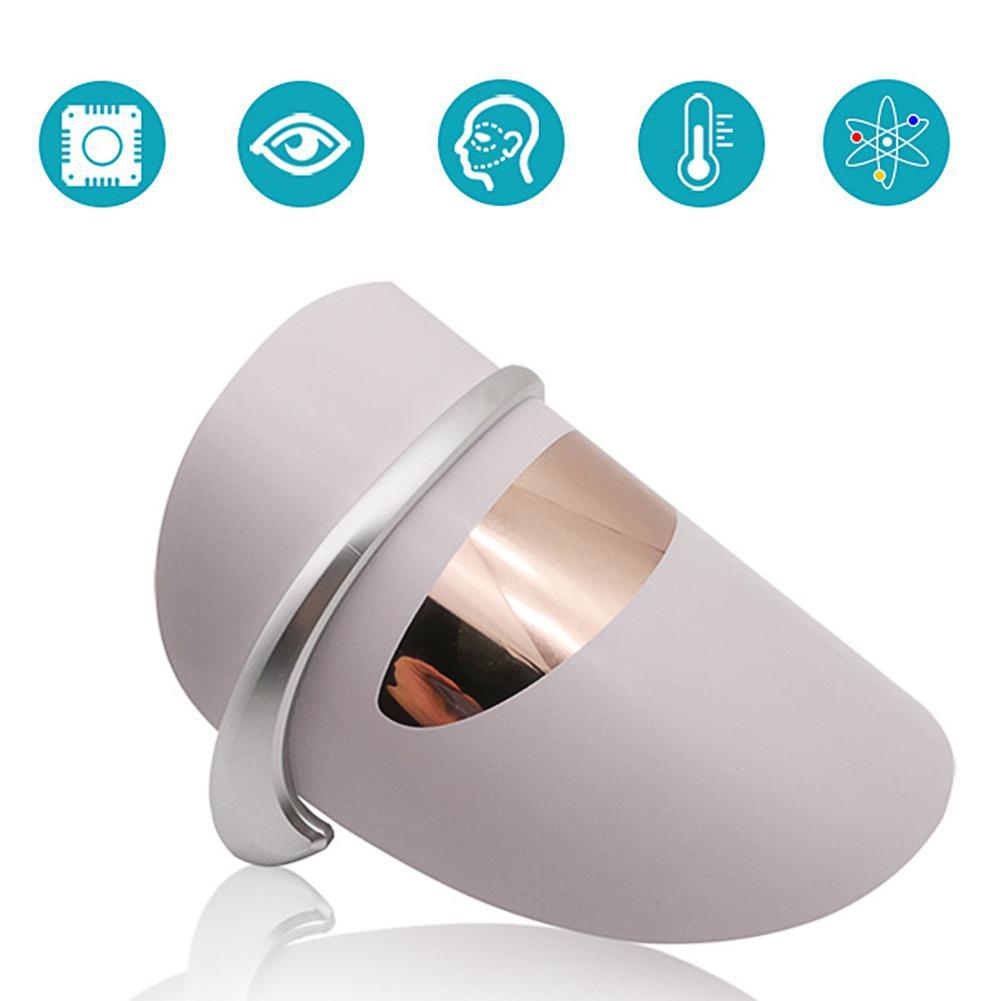BellyLady LED Face Mask Photon Therapy Face Mask Machine Light Therapy Acne Mask Neck Beauty Mask