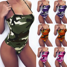 Womens Sleeveless Bodysuit Leotard Bodycon Bandage Ladies Jumpsuit Romper Tops B