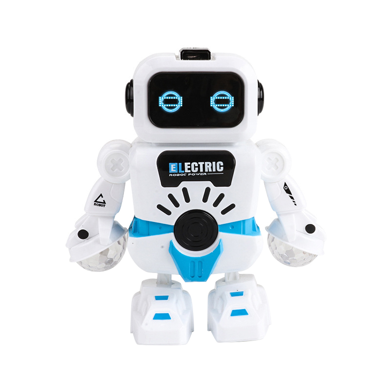 Electric Robot Toys Electronic Dancing Robot With Musical & Lighting Robot Fun Learning Toys - Best Educational Gifts For Boys