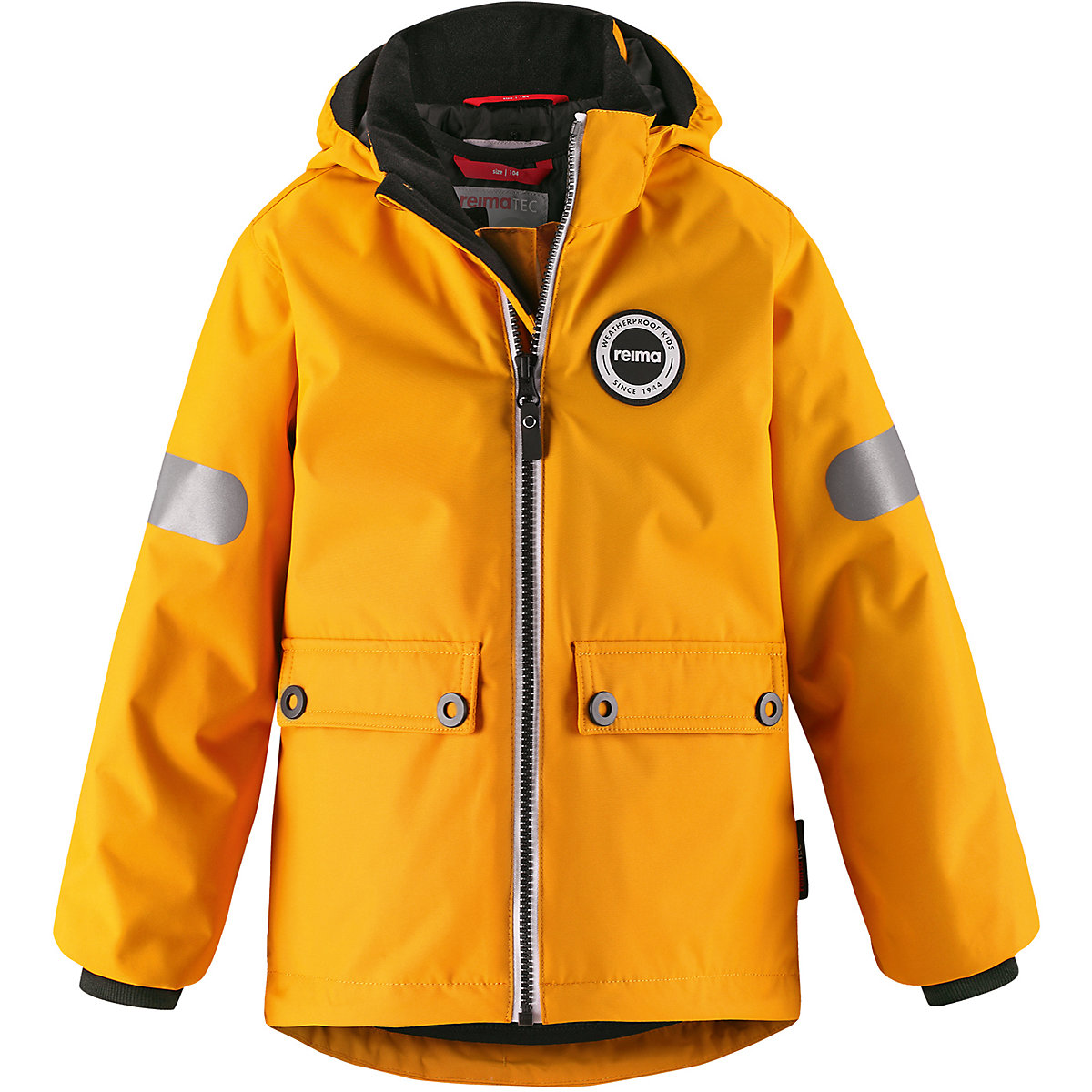 REIMA Jackets 8688906 For boys Polyester  winter fur baby clothing boy Jacket winter jacket men casual male coat warm men zipper outwear duck down jacket middle long mens parka with fur hood thick jackets