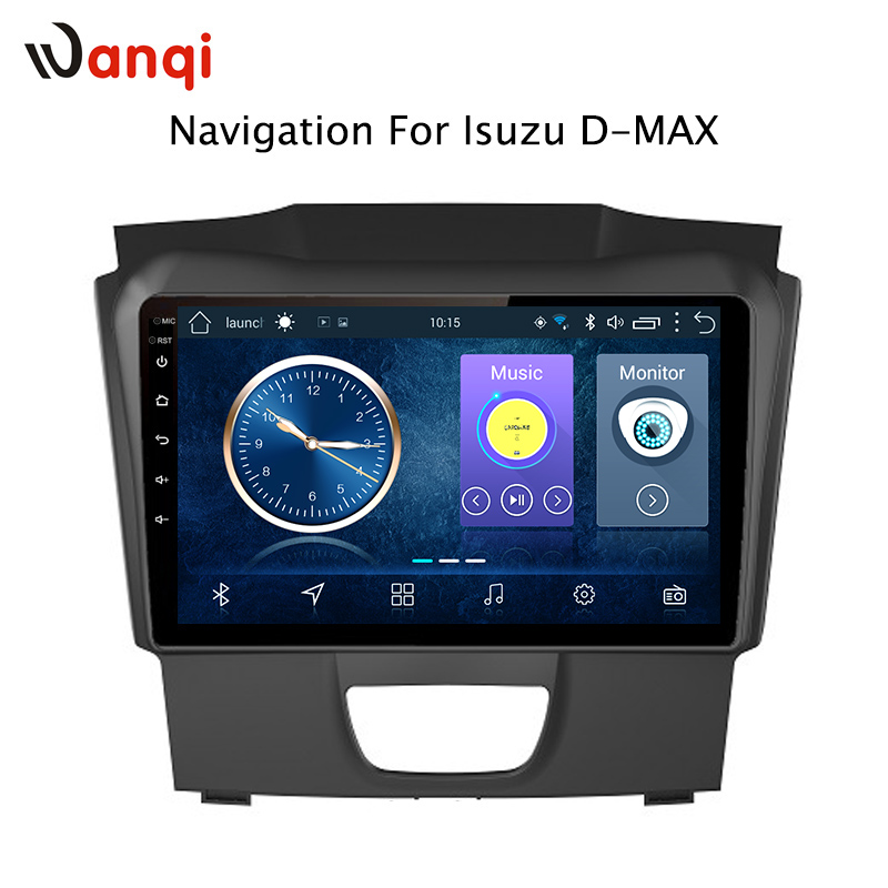 Car Radio For Isuzu D-MAX DMAX 2015-2018 Android 8.1 HD 9 inch Touch screen GPS Navigation Multimedia PlayerCar Radio For Isuzu D-MAX DMAX 2015-2018 Android 8.1 HD 9 inch Touch screen GPS Navigation Multimedia Player