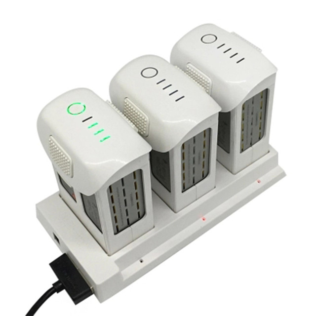 Phantom 4 Battery Charging Hub 3in1 Intelligent Battery Manager Charger for DJI Phantom4
