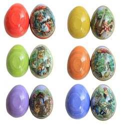 Пасхальный фестиваль яйцо Форма гладить подарок Коробки подарочная упаковка для конфет вечерние Малый Размеры поддавки Цветочные коробки
