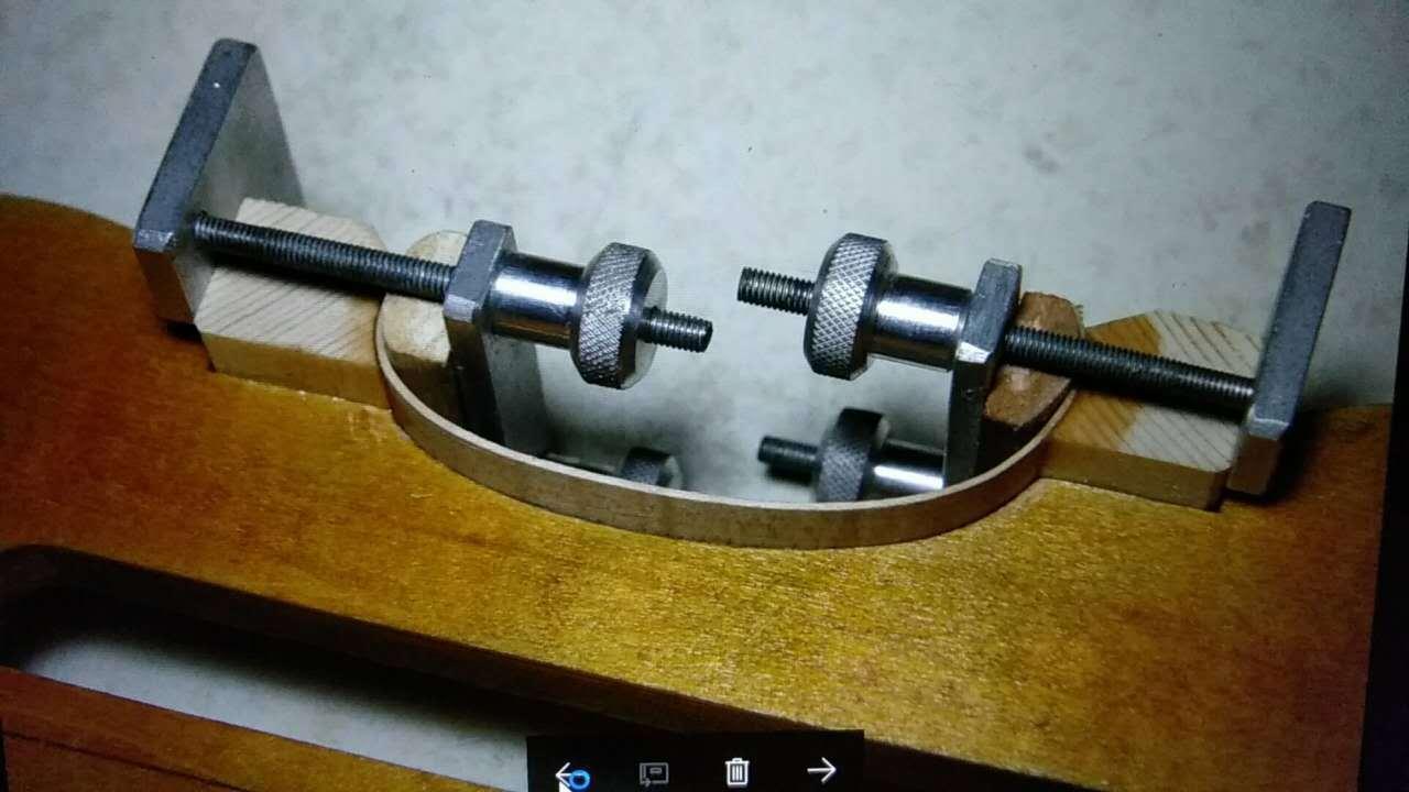 Ferramenta de Metal Pedaço Luthier Ferramenta Violino Fazendo Rib Madeira Braçadeira Corpo um