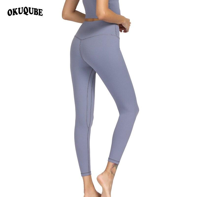 @1  Женские брюки для йоги Спорт Бег Спортивная одежда Эластичные леггинсы для фитнеса 9 Цветов Бесшовны ★