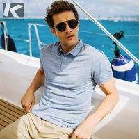 Летние мужские Poloshirts хлопок синий сплошной цвет для человека Slim Fit короткий рукав одежда мужская одежда фирменная Новинка топы корректирую...