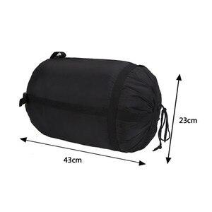 Image 5 - Saco de dormir de compresión ligero, plegable, para acampar al aire libre, senderismo, paquete de almacenamiento de alta calidad, bolsas de dormir, accesorios