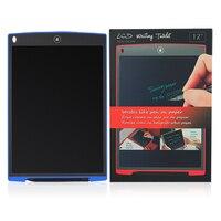 12 дюймов ЖК-дисплей записи планшет Электронный небольшой доске безбумажной письменная работа в офисе доска с стилусы электронные подушечк...