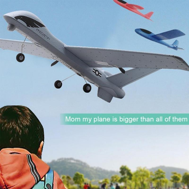 1 Set 40×66×13cm DIY Assembly Z51 Glider Foam Fixed-Wing Remote Control Kit RC Airplan 20 Minutes Fligt Time image