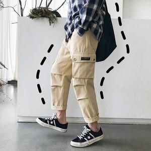 Image 5 - Мужские шаровары с принтом, модные эластичные хлопковые повседневные брюки в стиле хип хоп, спортивные штаны для бега, большие размеры, M 5XL, 2019