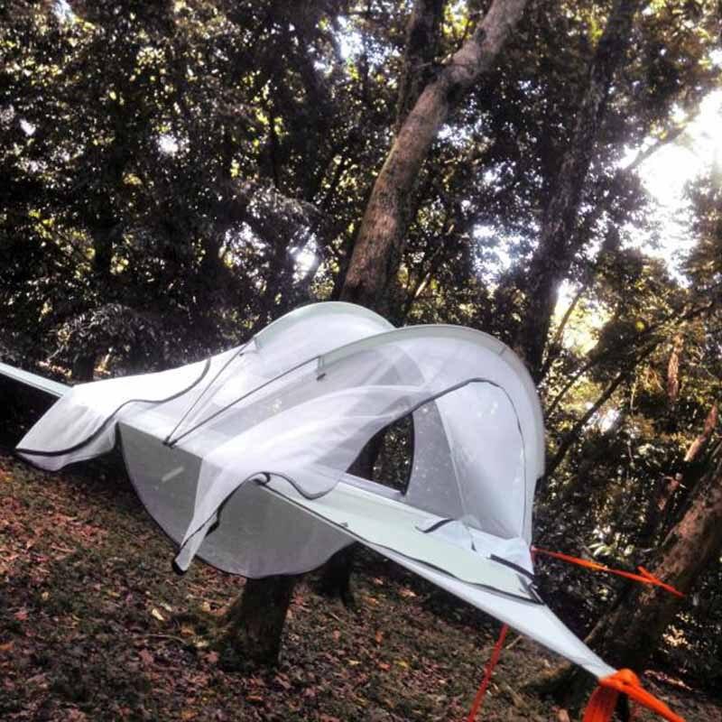 Outdoor Hanging Tree Suspension Tent Hammock Home Garden 3 Person Ultralight Waterproof Multi-functional Sleeping Hanging Bed