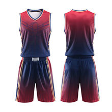 Индивидуальная Мужская молодежная Баскетбольная одежда комплект
