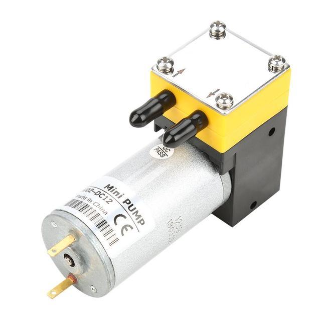 Новый электрический двигатель постоянного тока 12 В/24 В 0,4 1 л/мин, микро мембранный вакуумный самовсасывающий водяной насос