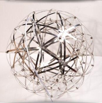 SETTEMBRE Modern And Industrial Sparks Steel Globe Led Pendant Lights For Living Room  Hanging Led Lamps