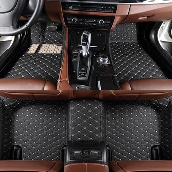 Car Floor Mats for OPEL Zafira Tourer C 2011-2013 2014 2015 2016 2017 2018 2019 cars accessories foot mats alfombrillas coche