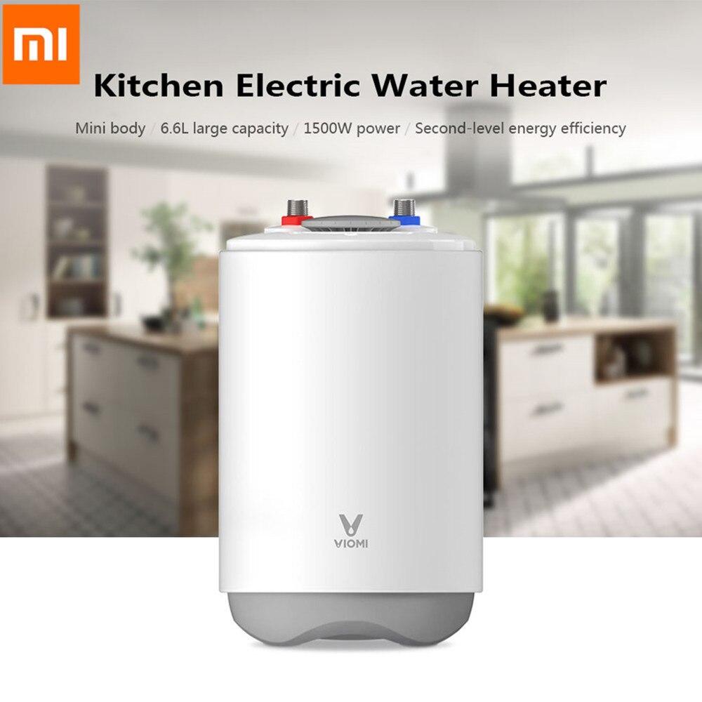 Original Xiaomi Viomi Df01 Electric Water Heater Portable Water Heater For Kitchen Bathroom 6.6l 1500w Portable Water Heater