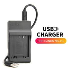 Zhenfa cargador de batería USB NB 11L NB 11LH para Canon PowerShot A2400 A3400 A4000 A4050 SX420 IS IXUS 190/185 SX430 IS