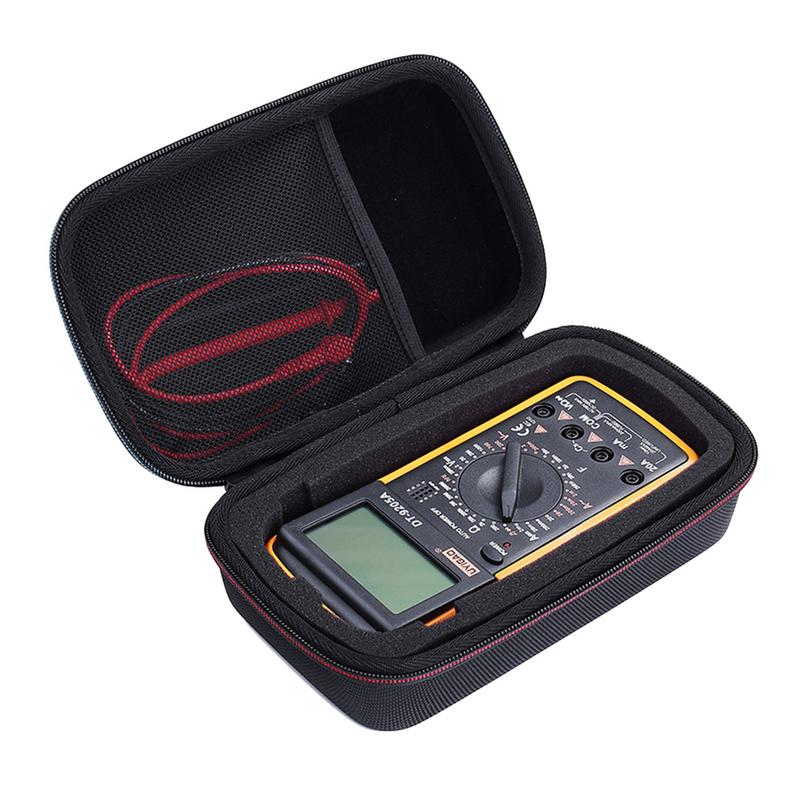 Recentes Premium EVA Bolsa De Transporte Saco de Viagem Saco Da Tampa Do Caso para Fluke F117C/F17B +/F115C Multímetro Digital