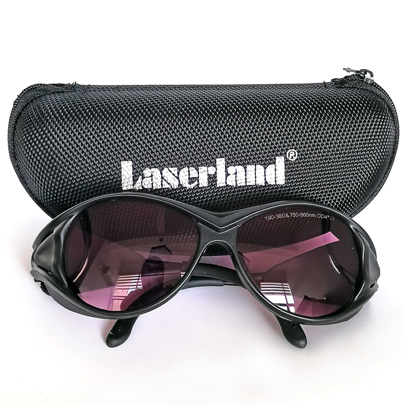 Laserland SK 6 2 Laser Protection Goggles Safety Glasses for 808nm 830nm 810nm IR Infrared Lazer