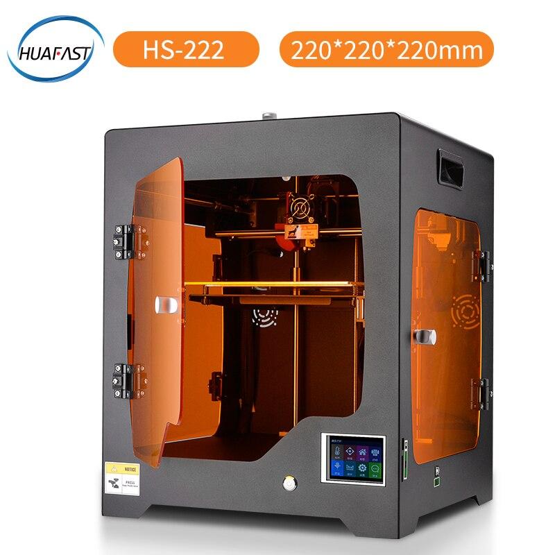 Impressora Nova Tecnologia Fdm HUAFAST 3D Cor Atualização firmware Marlin Reprap Compatível Ramps Alta Resolução Máquina de Impressão DIY