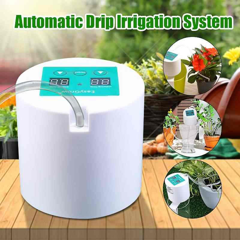 Automatic Watering Device Watering Device Drip Irrigation Tool Water Pump Timer system for Succulents Plant