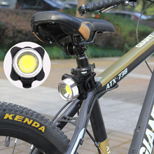 Водонепроницаемый велосипедный светильник с usb-зарядкой, задний велосипедный фонарь для горного велосипеда, подседельный штырь, 3 режима, велосипедный световой индикатор, светильник