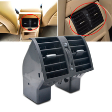 Rear Center Console Fresh Air Outlet Vent Grille Cover Black For Volkswagen Touran Caddy 2004-2015 1TD819203A