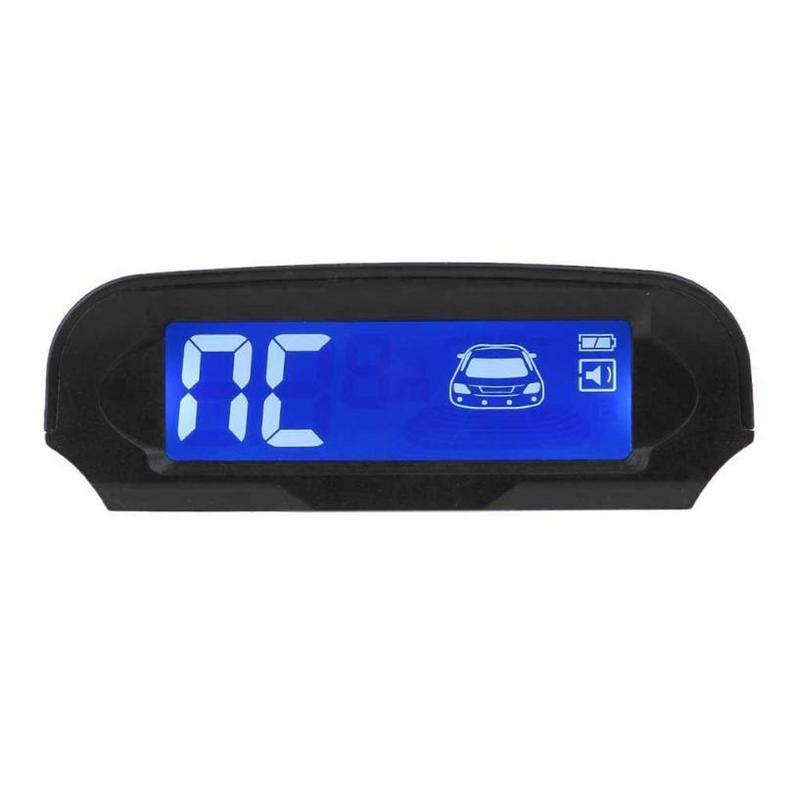 Solar Power Wireless LCD Car Parking Sensor Kit Auto Reversing Backup Radar Detector Assistance System With 4 SensorsSolar Power Wireless LCD Car Parking Sensor Kit Auto Reversing Backup Radar Detector Assistance System With 4 Sensors