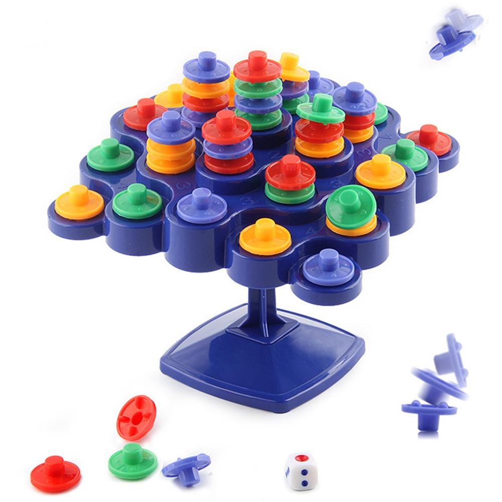 Novelty Balance Turntable Stacking Board For Parent-Child Activity Boosting Kids IQ Children Toy Gift Party Games
