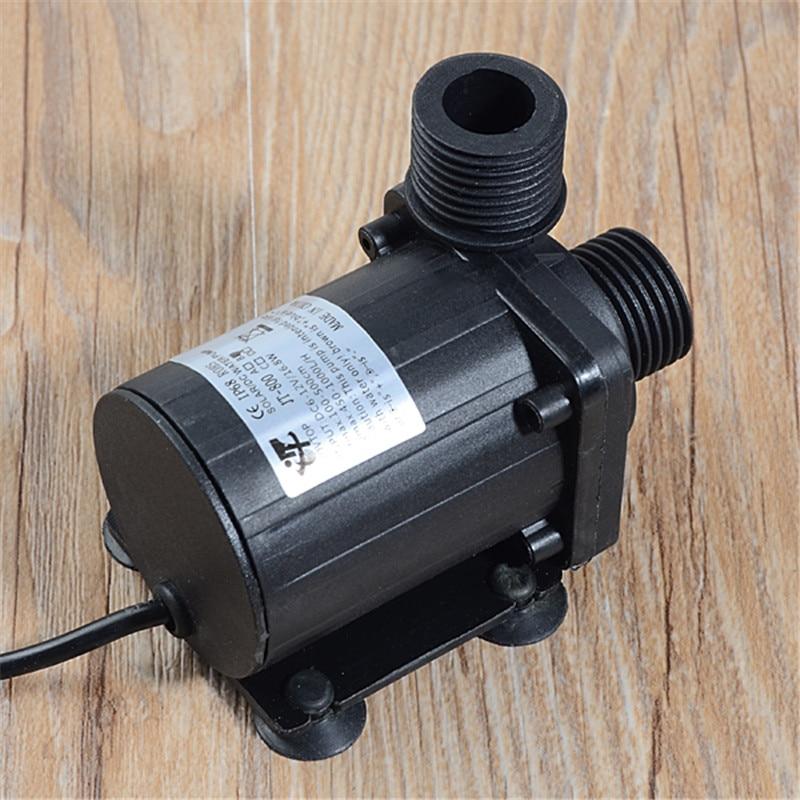 Image 4 - Dc 12 v 24 v 1000l/h bomba de circulação de água quente bomba de  água solar motor sem escova 5.5m ip68 alta qualidadeSapatos   -