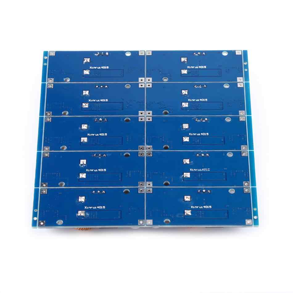 10PCS XL4015 5A DC to DC CC CV Lithium Battery Step down Charging Board Led Power Converter Lithium Charger Step Down Module Hot